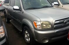 Tokunbo Toyota Tundra 2006 Silver for sale