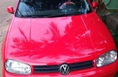 Volkswagen Golf 2004 GL 2.0 Red for sale