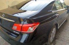 Lexus ES 350 2012 Black for sale
