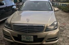 Mercedes Benz C250 2013 Gold for sale