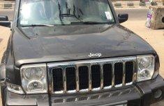 Jeep Commander 2006 Black for sale