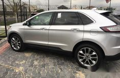 Ford Edge 2016 Silver for sale