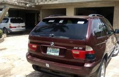 Neatly Used BMW X5 2003 Red for sale