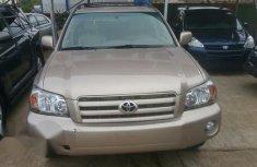 Toyota Highlander 2007 Gold for sale