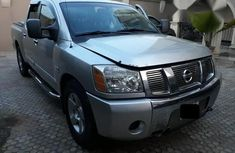 Nissan Titan 2004 Silver for sale