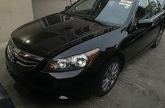 Honda Accord 2012 Black for sale