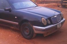 Mercedes-Benz E230 2003 Black for sale