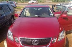 Lexus GS300 2007 Red for sale