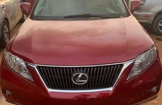 Lexus RX 2011 Red for sale