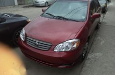 Toyota Corolla 2004 1.4 D Automatic Red for sale