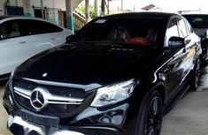 Mercedes-Benz GLE-Class 2017 Black for sale