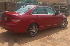 Mercedes-Benz C300 2010 Red for sale