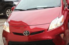 Foreign Used Toyota Prius 2015 Red for sale