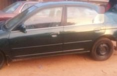 Clean Honda Civic 2002 Green for sale