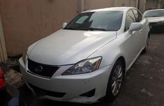 Lexus IS 250 2007 White for sale