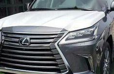 Clean like new Lexus Lx570 2017 Gray for sale