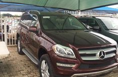 Mercedes-Benz GL Class GL450 4MATIC SUV 2015 Brown for sale