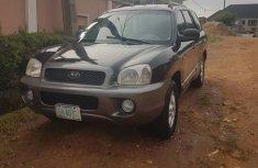 Hyundai Santa Fe 2003 Black for sale