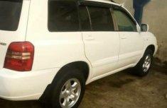 New Toyota Highlander 2005 V6 White for sale