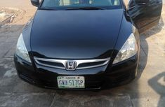 Honda Accord 2.4 2007 Black for sale