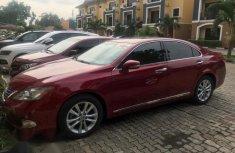 Used Lexus ES 2010 350 Red for sale