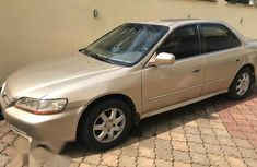 Honda Accord 2001 Gold for sale