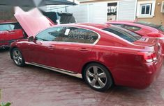 Lexus GS 2008 350 Red for sale