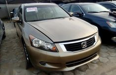 Honda Accord 2009 Gold for sale