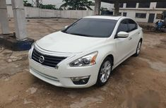 Nissan Altima 2015 White for sale