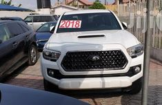 New Toyota Tacoma 2018 White for sale