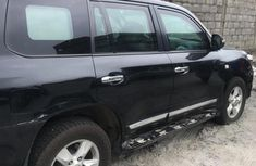 Neatly Used Toyota Land Cruiser 2012 Black for sale