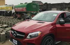 Tokunbo Mercedes Benz GLE 450 2017 Red for sale