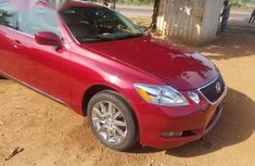 Lexus GS 300 AWD 2006 Red for sale