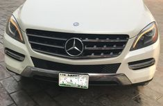 Mercedes-benz ML 350 2013 White for sale