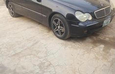 Mercedes-Benz C240 2005 Black for sale