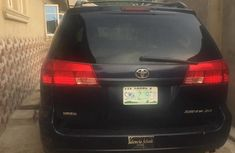 Toyota Sienna 2004 Black for sale