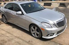 Mercedes-benz E350 4MATIC 2011 Silver for sale