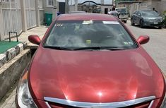 Hyundai Sonata 2010 Red for sale