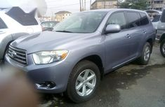 Clean Toyota Highlander 2008 Gray for sale