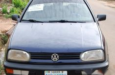 Volkswagen Golf 1991 Blue for sale