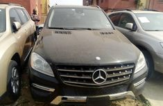 Mercedes-Benz ML350 2012 Petrol Automatic Black for sale