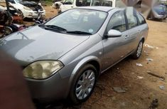 Foreign Used(Tokunbo) Executive Nissan Primera 2005 Silver for sale