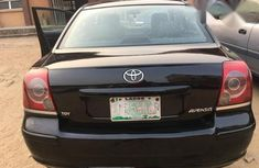Toyota Avensis 2.0 Advanced Automatic 2007 Black for sale