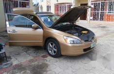 Honda Accord 2005 2.4 Type S Gold for sale