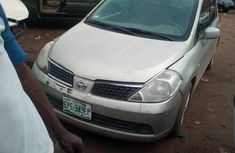 Nissan Tiida 2007 Gold for sale