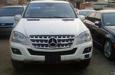 Mercedes-benz Ml 350 2009 White for sale