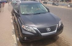 Lexus RX350 2010 Black For Sale