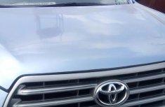 Clean Toyota Highlander 2008 Blue for sale