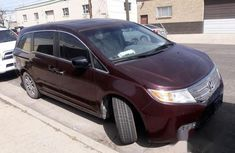 Honda Odyssey 2012 Red for sale