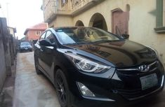 Hyundai Elantra 2014 Black for sale